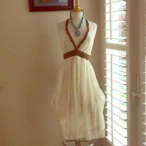 Feminine Halter Dress